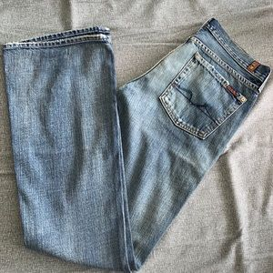 NEW 7 For All Mankind Embellished Jeans size 28